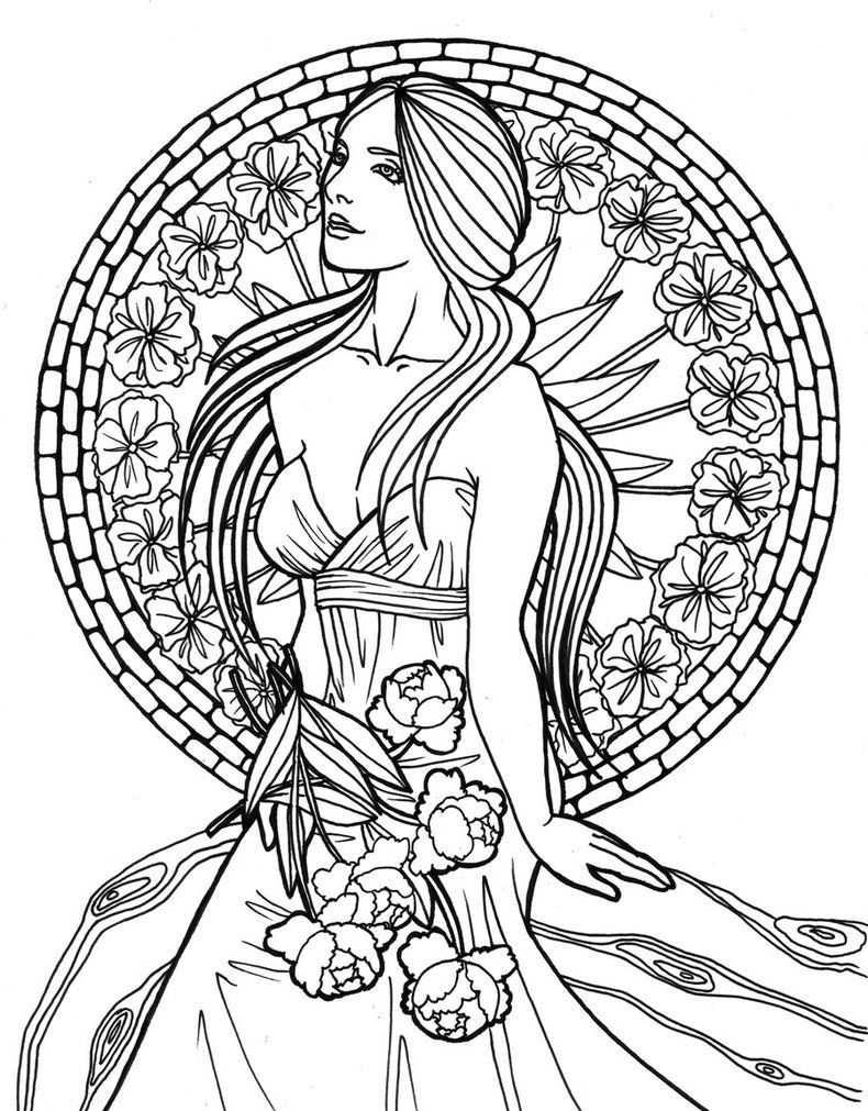 Nouveaulines Mermaid Coloring Pages Fairy Coloring Pages Coloring Pages