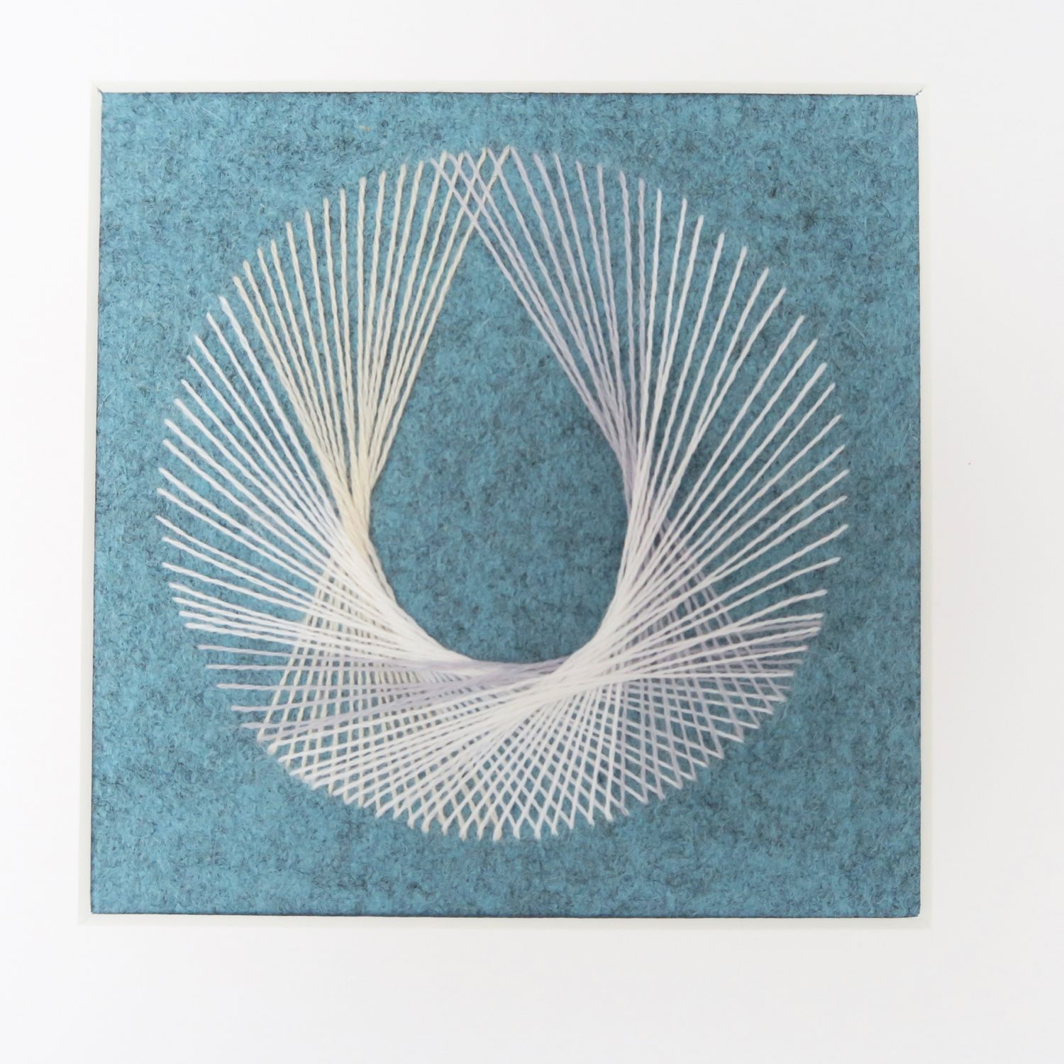 Teardrop string art unconventional stitches pinterest string a tutorial how to make string art with a needle and thread flossie teacakes baditri Image collections