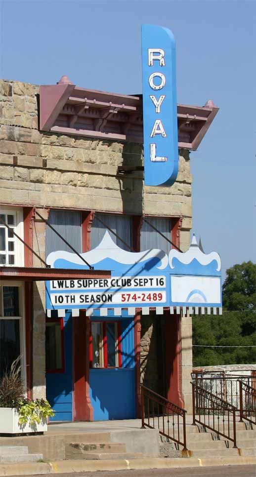 Royal Theater Archer City Texas Was Featured In The Movie The