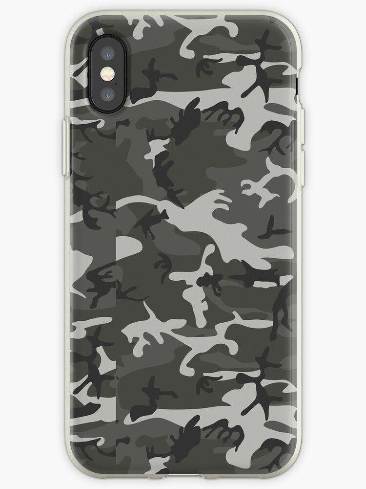 Camouflage iphone xs soft by khateeb iphone case