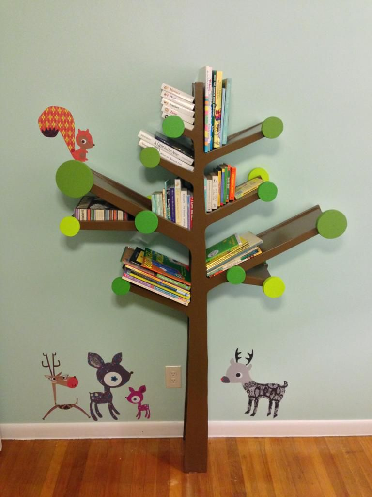 Engaging Design Ideas Of Branch Bookshelf. Delectable Design Branch  Bookshelf Featuring Brown Wooden Branch Bookshelf And Brown Wooden  Laminated Floor Plus ...