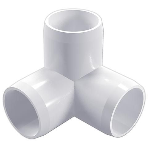 1 2 3 Way Pvc Furniture Grade Fitting White Side Outlet Elbow Pipeworks Pvc Fittings Pvc Furniture Furniture Grade Pvc