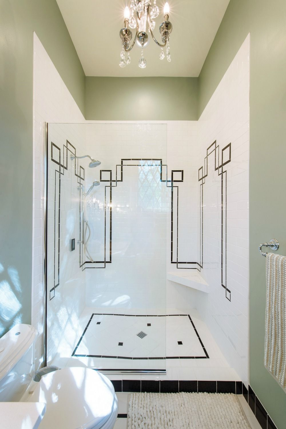 Southern Home Paint Color Palette   White tile bathrooms, White ...