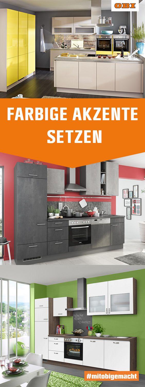 Die Küche – Familienmittelpunkt und Herz von Wohnung und Haus Bei OBI kannst du deine ...