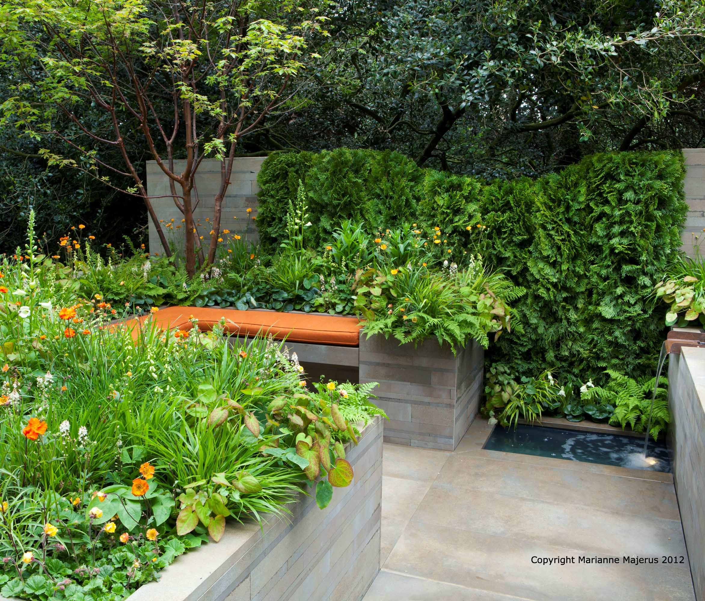 Our First Chelsea Show Garden In The Artisan Category, Sponsored By APCO  Worldwide. The