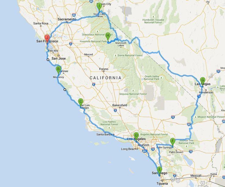 Kompakte Rundreise Westkuste Usa Hier Findet Ihr Kurze Und Lange