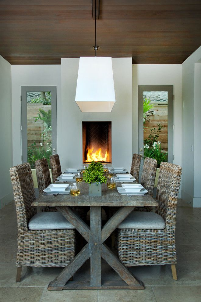 Indoor Wicker Dining Chairs Decorating Ideas Gallery In Dining Captivating Wicker Dining Room Sets Inspiration