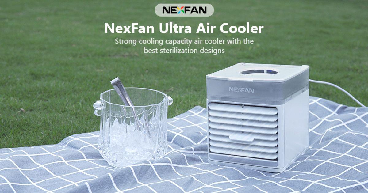 NexFan UltraPortable AC with Sterilization System