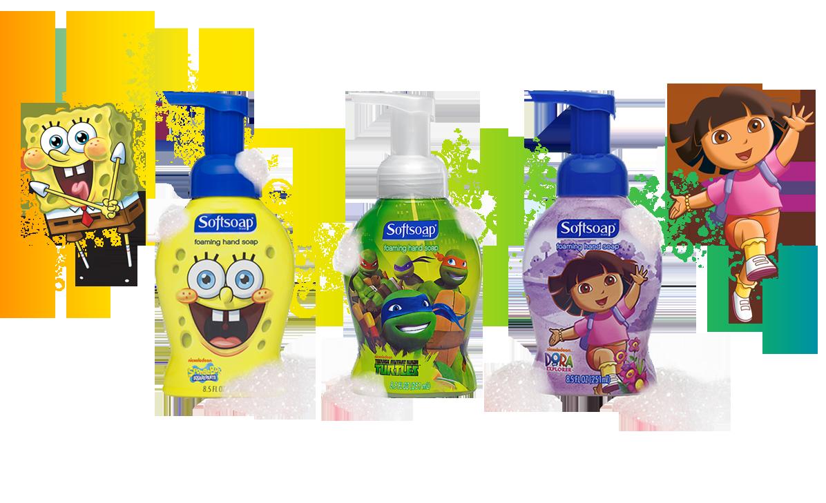 Liquid Hand Soap - Décor Collection, Kids, Advanced Benefits