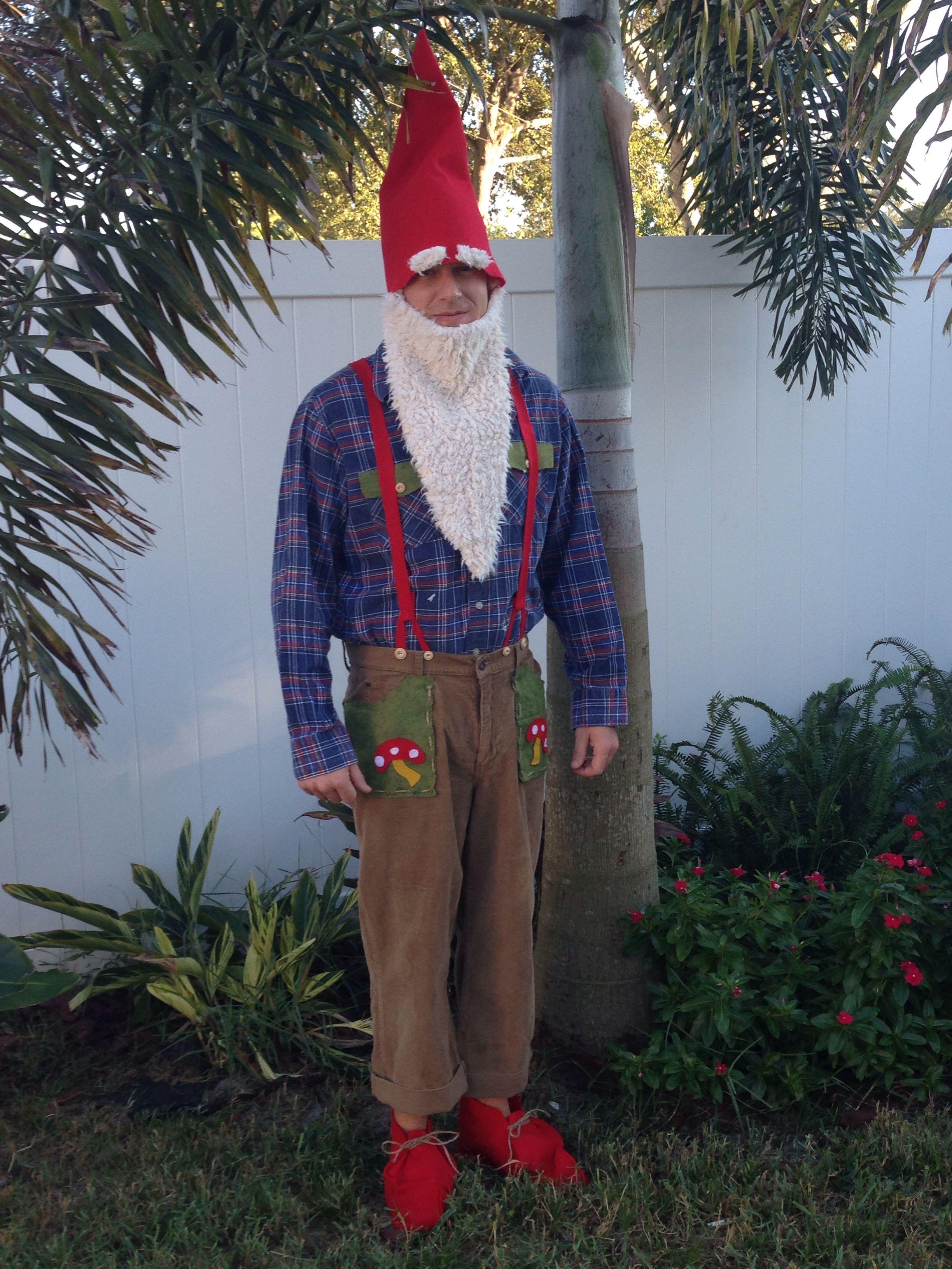 Handmade gnome costume                                                                                                                                                                                 More #gnomecostume