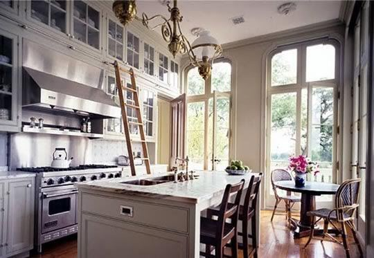 Bright kitchen with gorgeous sunshine flowing through.