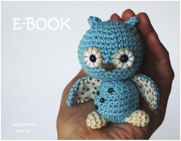 Eule Selber Häkeln Amigurumi Eule Häkeln Crochet Crochet