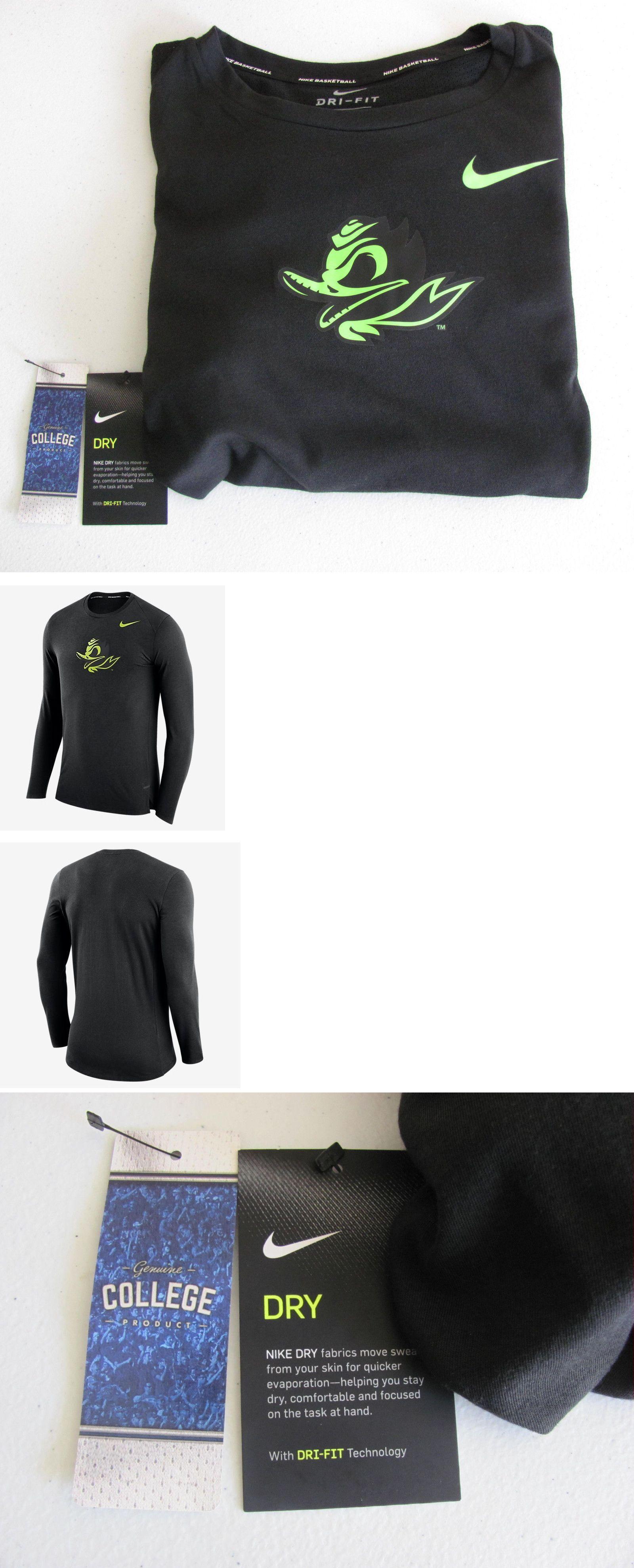 d9517a483722 Athletic Apparel 137084  Men S Nike Oregon Ducks Dri Fit Basketball Long  Sleeve Shirt Nwt  60 Xl-2Xl -  BUY IT NOW ONLY   31.99 on eBay!