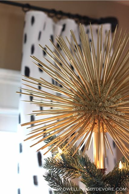 Dwellings By Devore Blogger Stylin Home Tours Christmas Diy Christmas Tree Topper Diy Christmas Tree Christmas Tree Toppers