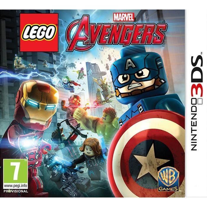 Lego Marvel S Avengers Jeu 2ds 3ds Die Rächer Lego Humor Lego Marvel S Avengers