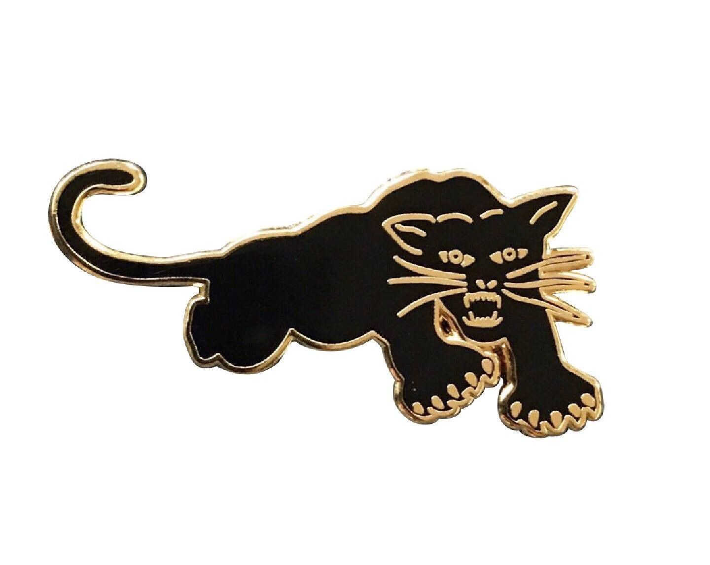 Black panther 3d sticker