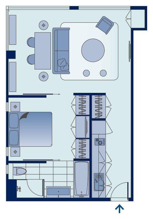 Shama Fortress Hill Hong Kong U2013 Luxury One Bedroom Apartment