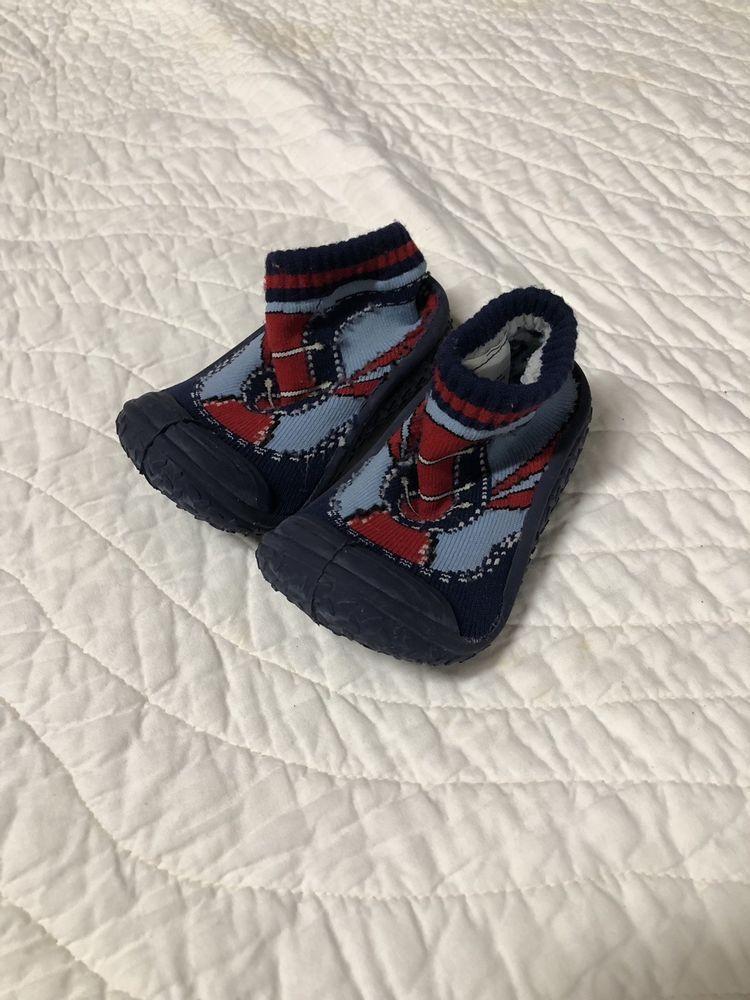 948212546e5ec Infant Baby Boys Girls Sneaker Printed Anti-slip Rubber First ...