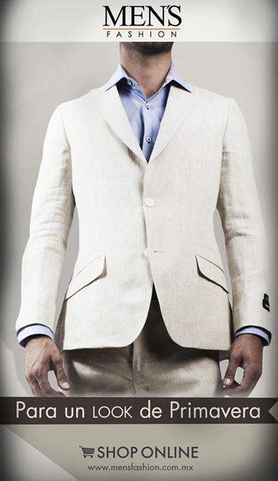 Si utilizas #traje de lino y hace mucho calor procura no utilizarlo con corbata, compleméntalo con un #pañuelo para proyectar un #look casual. Cómpralo aquí: www.mensfashion.com.mx