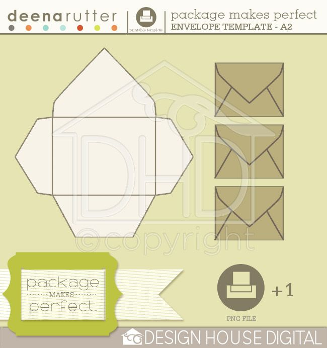 Envelope Post enzo Pinterest Cutting files, Cuttings and House - a2 envelope template