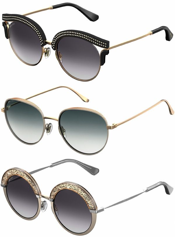 Brilhos da Moda  Óculos de Sol Jimmy Choo Outono Inverno 2016 2017 ... 9b75f3c1fc