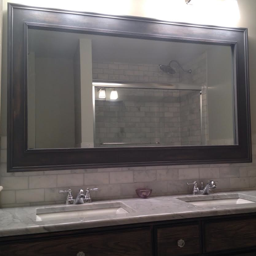 Mirror For Antique Nj Home To Match Fleur De Lis Vanity We Built Awesome Bathroom Vanities Nj Design Ideas