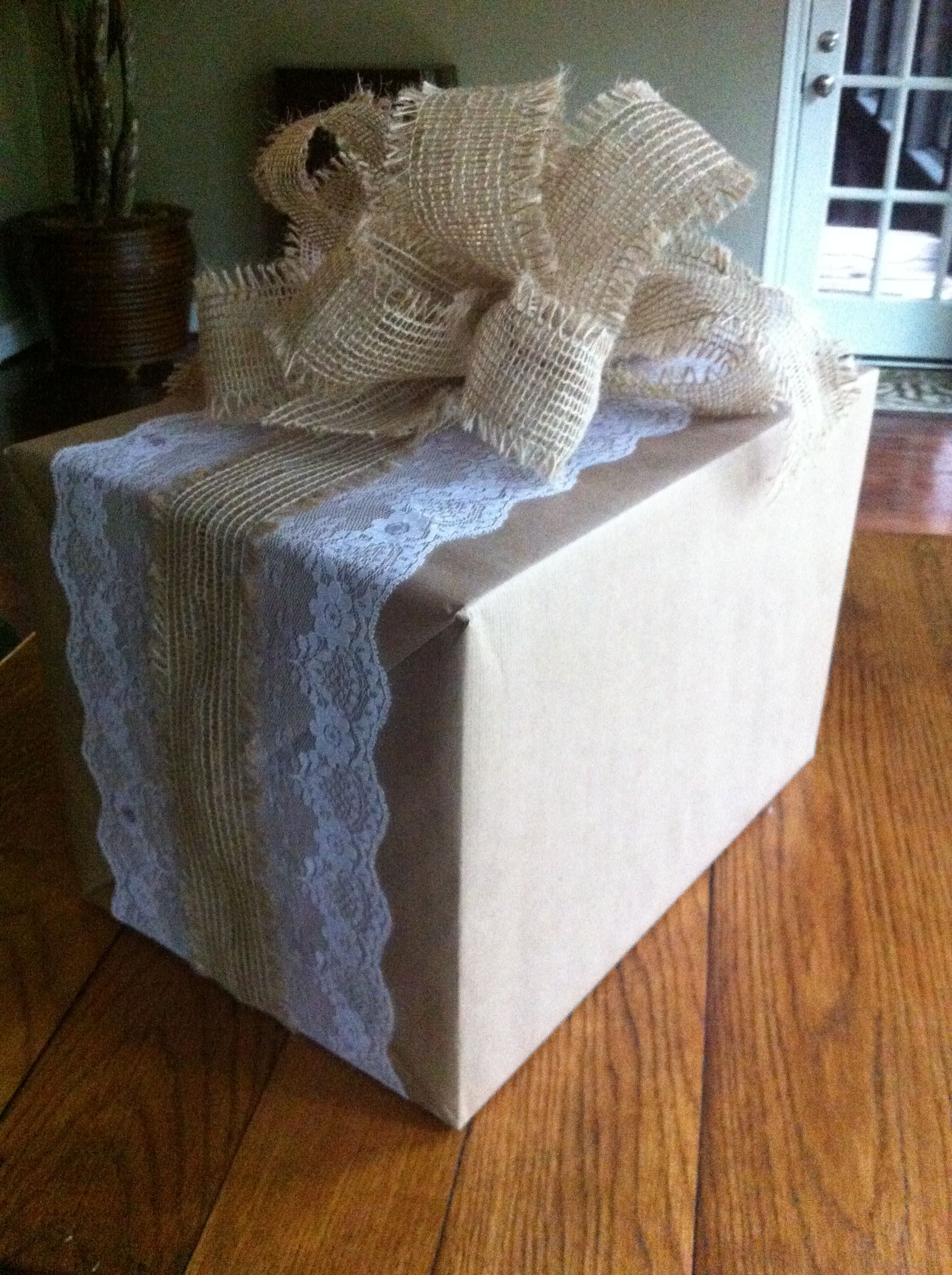 Shabby Chic Country Wedding Gift Wrap Products I Love Pinterest