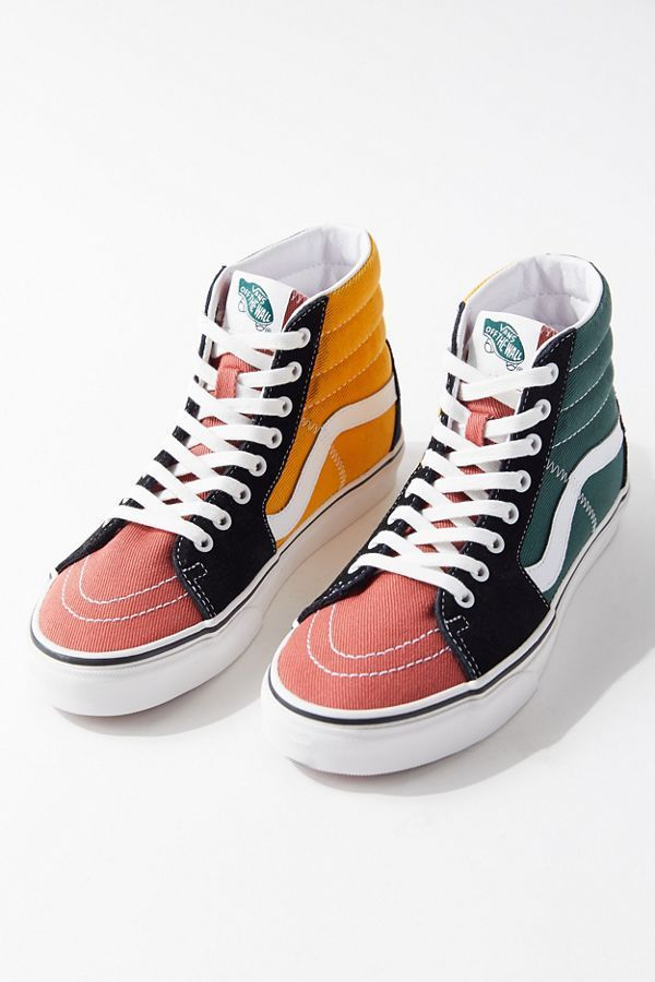 Vans Sk8-Hi Varsity Colorblock Sneaker