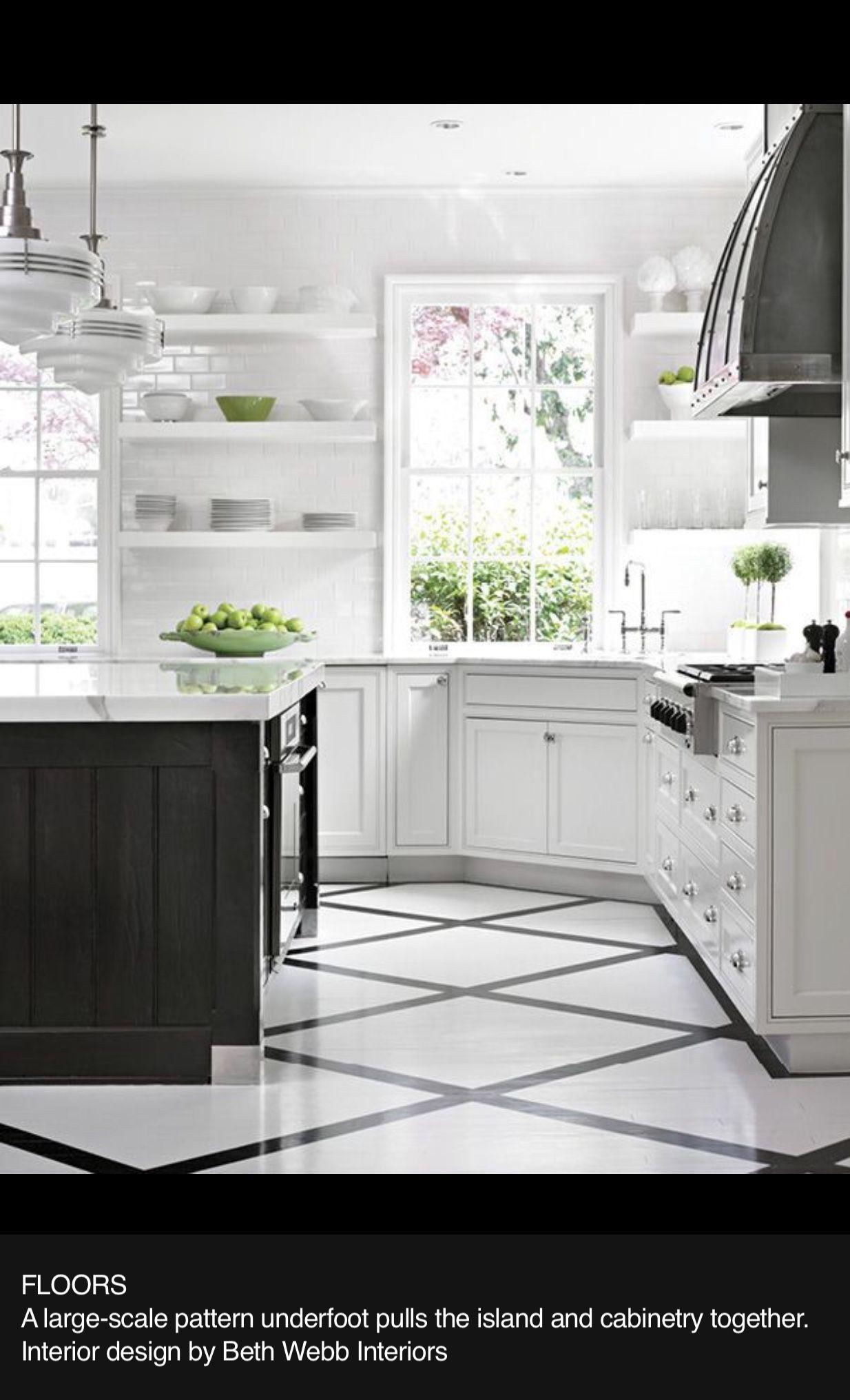 pincourtney n on home  white kitchen floor kitchen