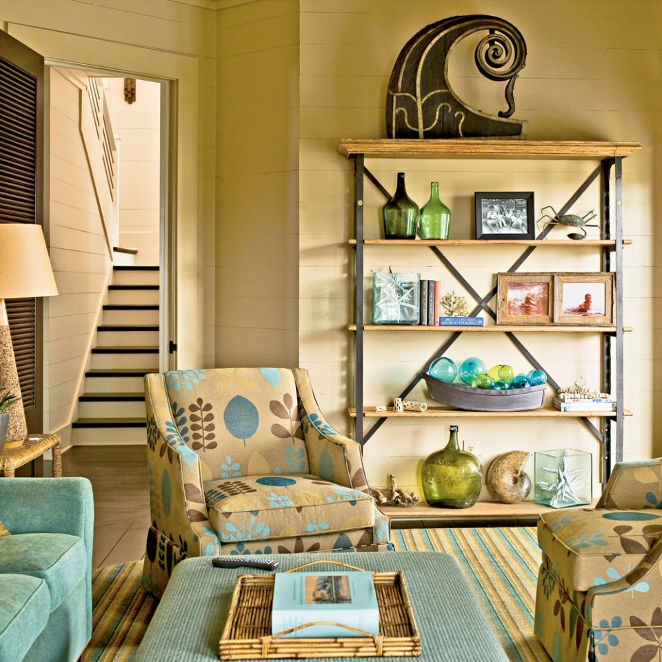 p>While most coastal rooms are all about flooding the space with ...
