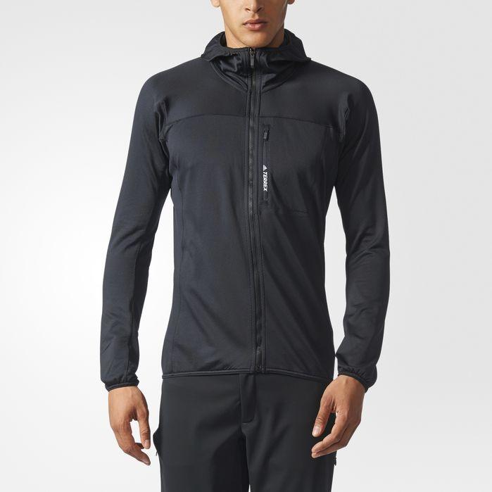 Endulzar Emociónate Dependencia  adidas TERREX TraceRocker Hooded Fleece Jacket - Mens Outdoor Jackets |  Fleece jacket, Mens fleece hoodie, Mens jackets