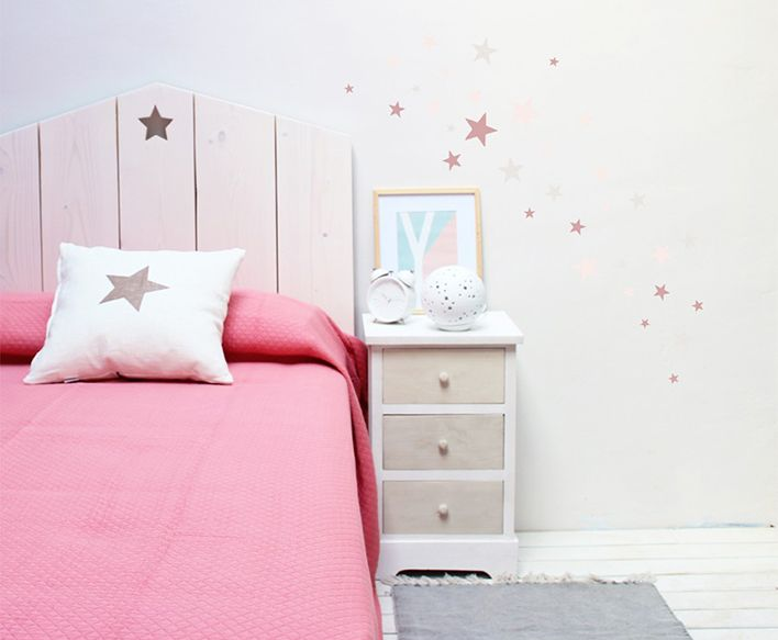 Decoraci n handmade en tu dormitorio pinterest el dormitorio dormitorio y cabeceros - Muebles nieto dormitorios juveniles ...