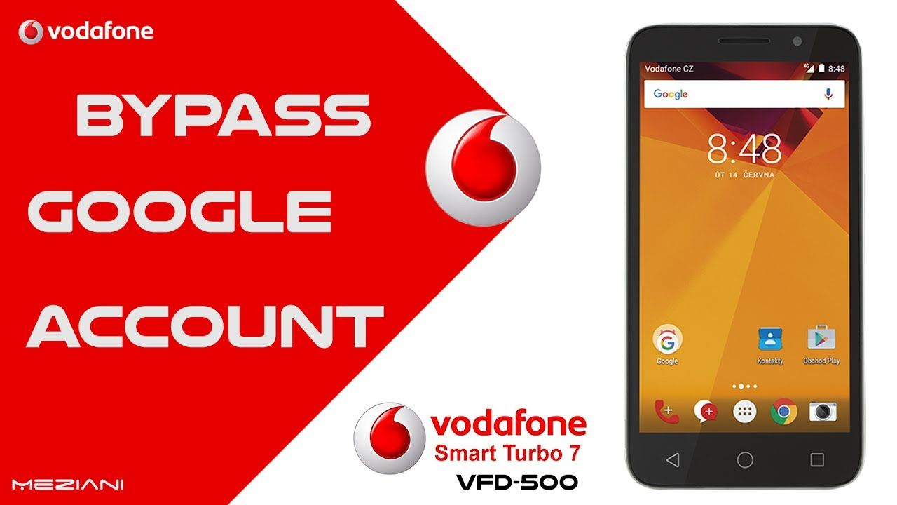 Bypass Google Account Vodafone Smart Turbo 7 VFD 500 Remove