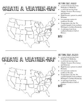 How To Make A Weather Map.This Weather Map Is A Second That Accompanies My Create A Weather