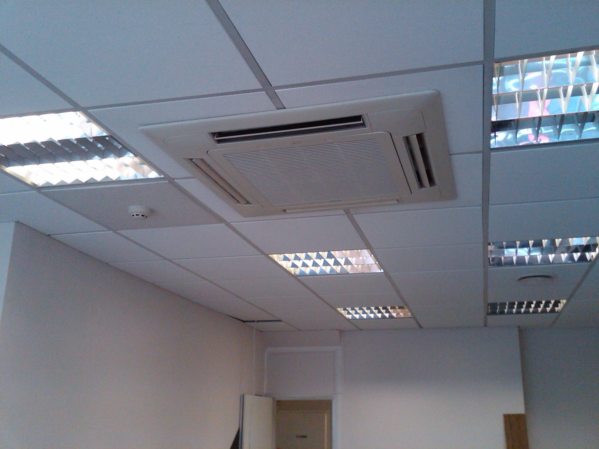 New Ceiling Tiles Installed And Finished To A High Standard Smoke