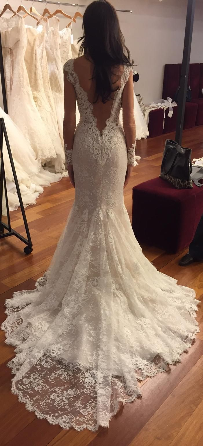 Ines+Di+Santo+Madrid,+$6,250+Size:+4+|+Used+Wedding+Dresses | Dream ...