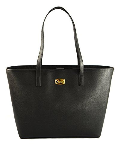 Michael Kors Jet Set Travel Black Tote 35S6GTVT2L >>> You can find more details by visiting the image link.Note:It is affiliate link to Amazon.