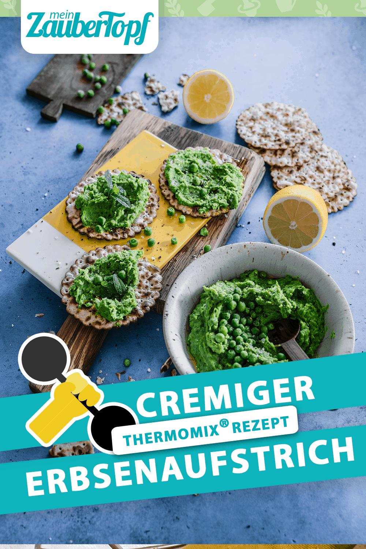 Cremiger Erbsenaufstrich Aus Dem Thermomix Zaubertopf Rezept In 2020 Rezepte Thermomix Rezepte Thermomix