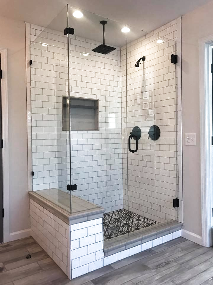 38 Awesome Master Bathroom Remodel Ideas On A Budget 28 Bathroom Remodel Shower Shower Remodel Farmhouse Master Bathroom