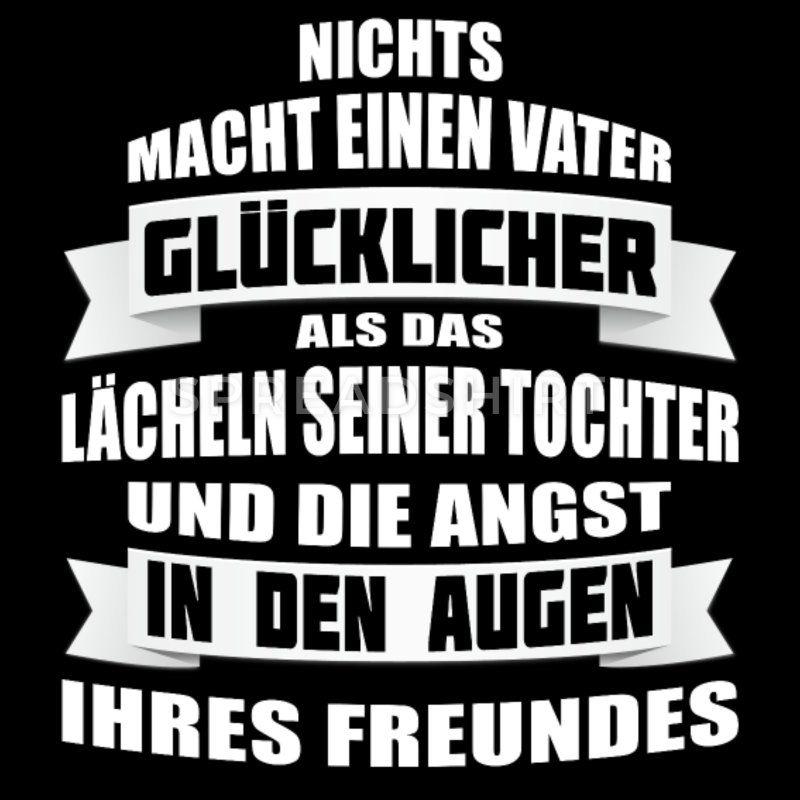 Lustiges Geschenk für Väter / Papa Vater Tochter Männer T-Shirt | Spreadshirt