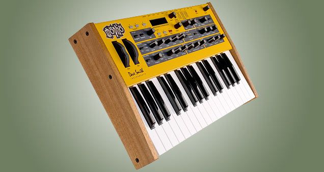 Mopho Monophonic Analog Synthesizer Keyboard. Overview.