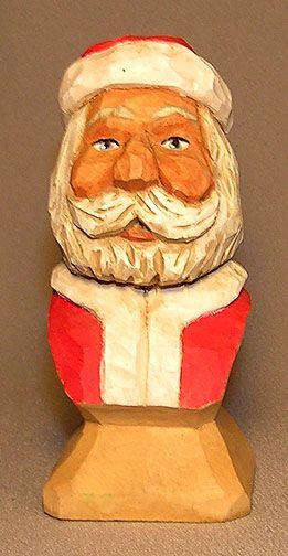 Santa Miniature Bust $29.00