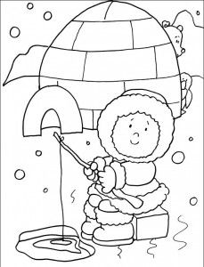 Winter Season Coloring Pages For Kids Coloring Pages Winter