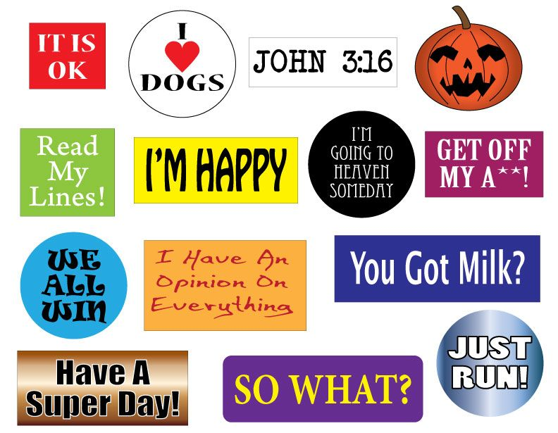 Stickers decals stickers bumper stickerskids stickers custom address labels