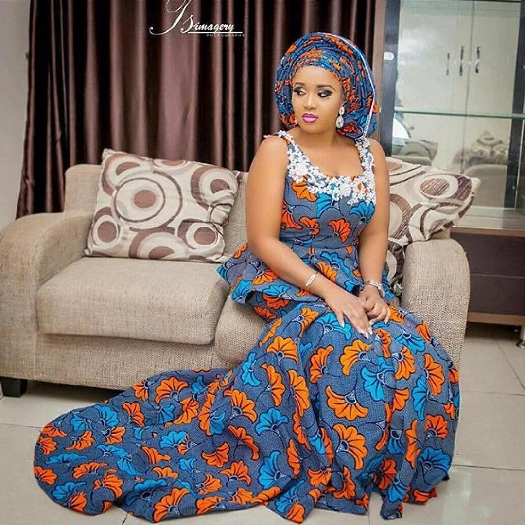 There are quite a few ways to enable yourself beautiful with an Ankara fabric, Even if you are contemplating about what to create and slay with an Nigerian Yoruba dress styles. Nigerian Yoruba dress styles for parties arrive in a good many patterns and designs.   The African print styles beauty of this print is that it comes in many designs and textures. Ankara will permit you make a assent of any cloth without losing the  African Ankara dresses  flair. #nigeriandressstyles