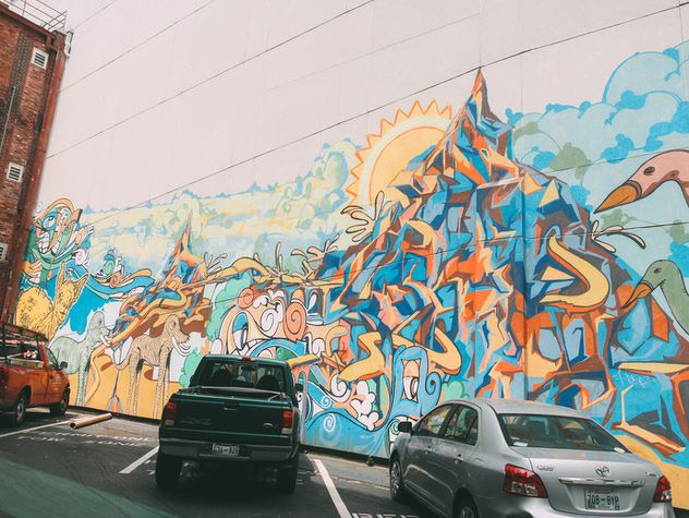 5 Spots To Take A Nashville Selfie Nashville Murals Nashville Street Art