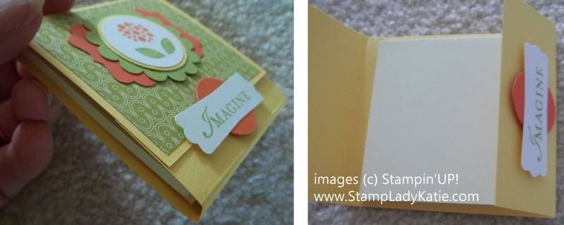 Matchbook Style Post It Holder Post It Holder Craft Fairs Post It Note Holders
