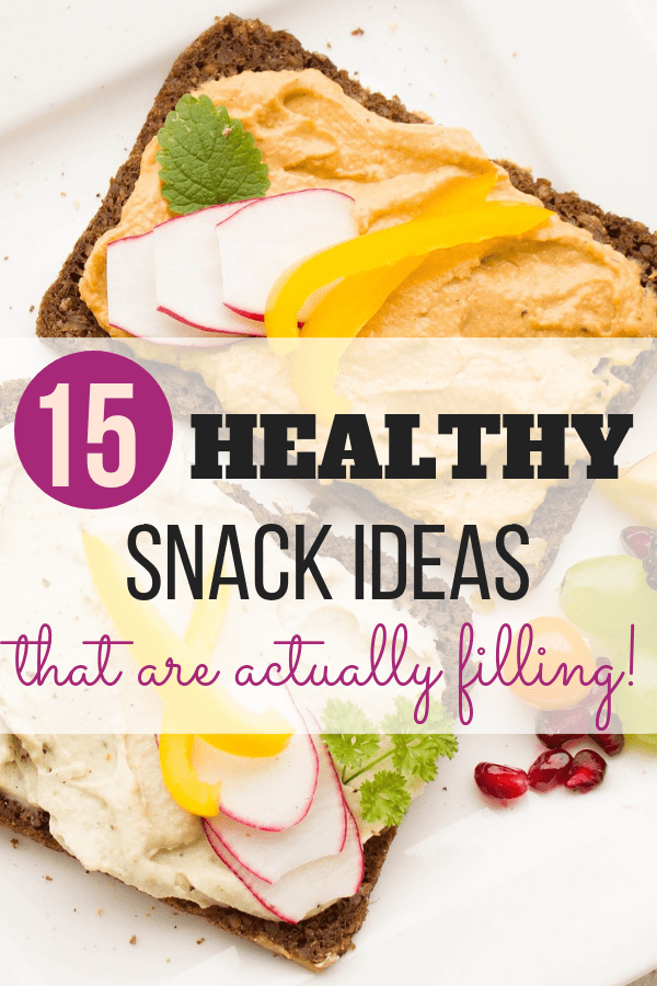 15 Quick and Healthy Snack Ideas images