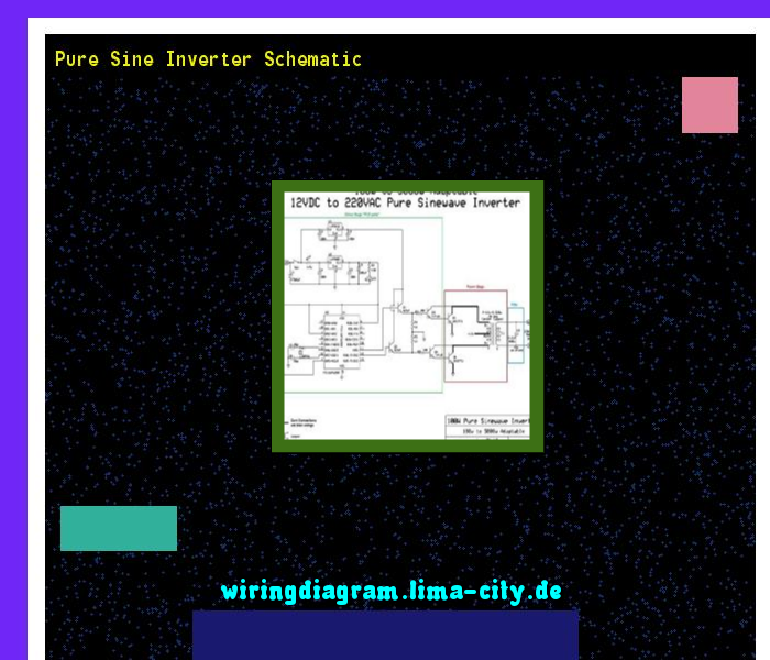 Pure Sine Inverter Schematic  Wiring Diagram 175845
