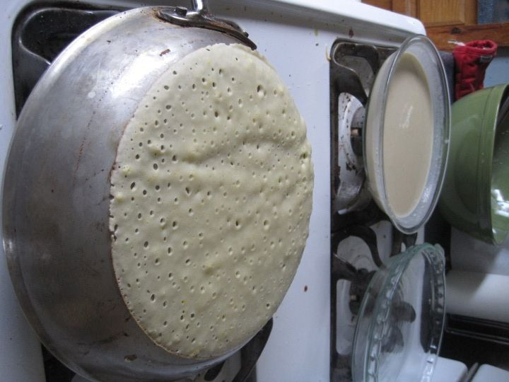 Make Crepes With The Bottom Outside Reverse Of The Frying Pan Crepes How To Make Crepe Crepe Recipes